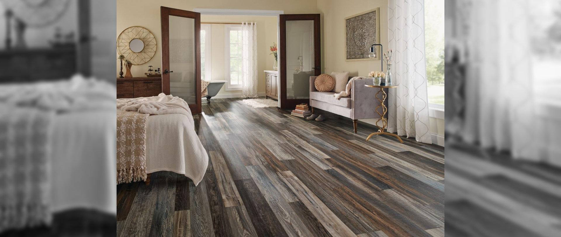 floor design at the bedroom